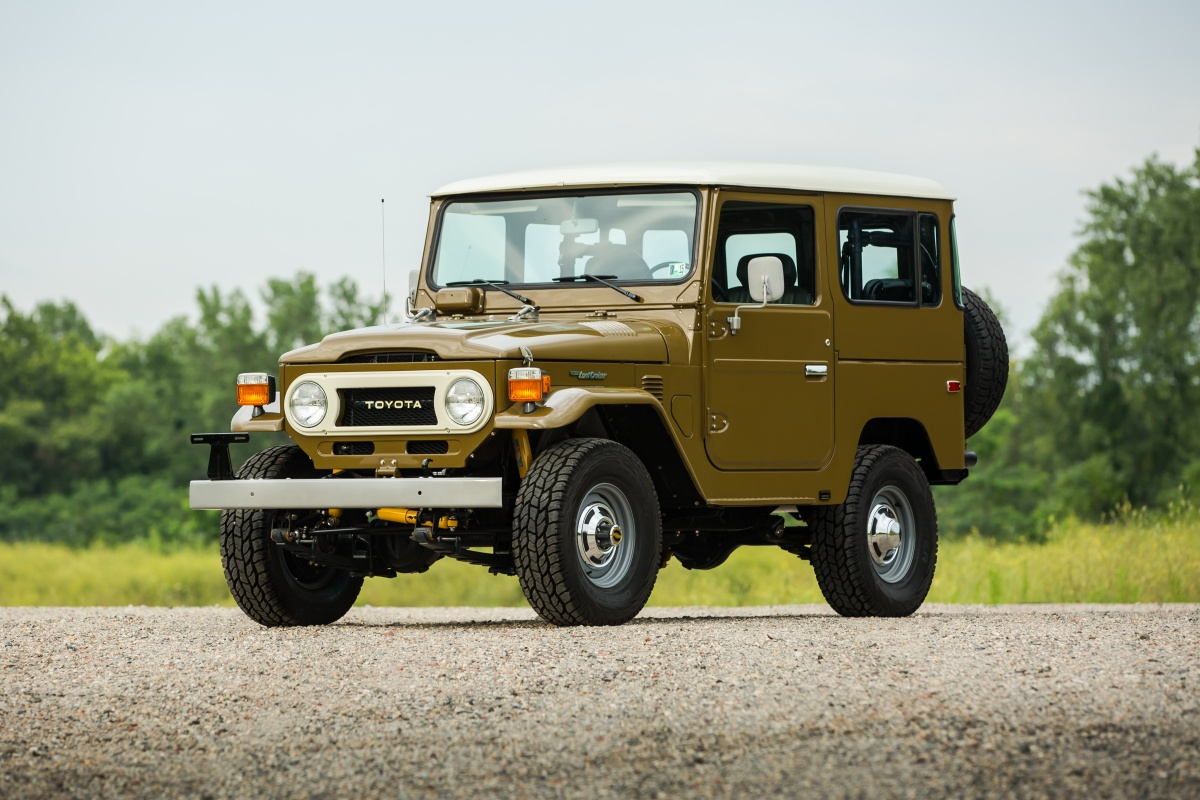 1978 Toyota Land Cruiser FJ40 for sale in USA: USD 84,500 | All Cars ...