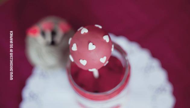 San valentín / Valentines day - cakepops , biscoletas, biszcobolas