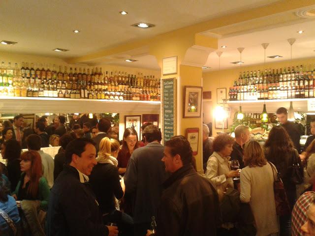Bar La Castela, interior.