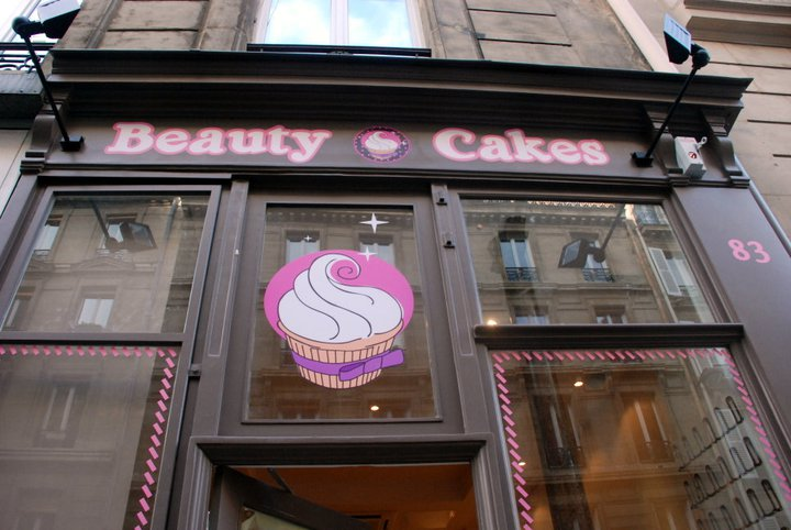 facade boutique cupcake paris