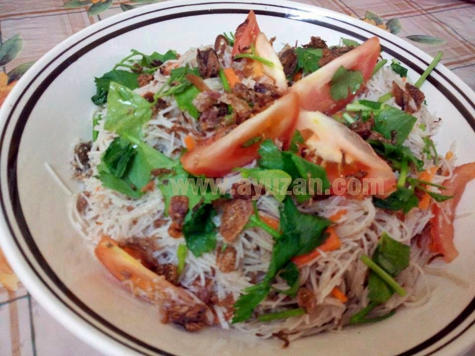 Menu Bihun Goreng Singapore