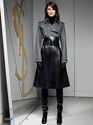 Curlitalk: Trending for Fall 2013: Leather in Black is Back!
