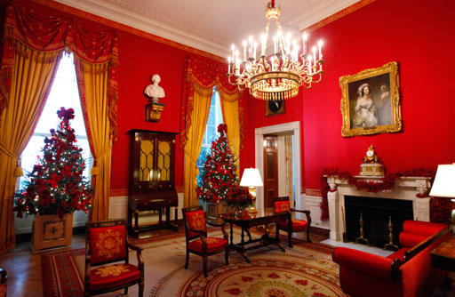 Decorating Ideas > Interior Design Couture  The White House  Interiors ~ 042857_Christmas Decoration Ideas For Inside The Home