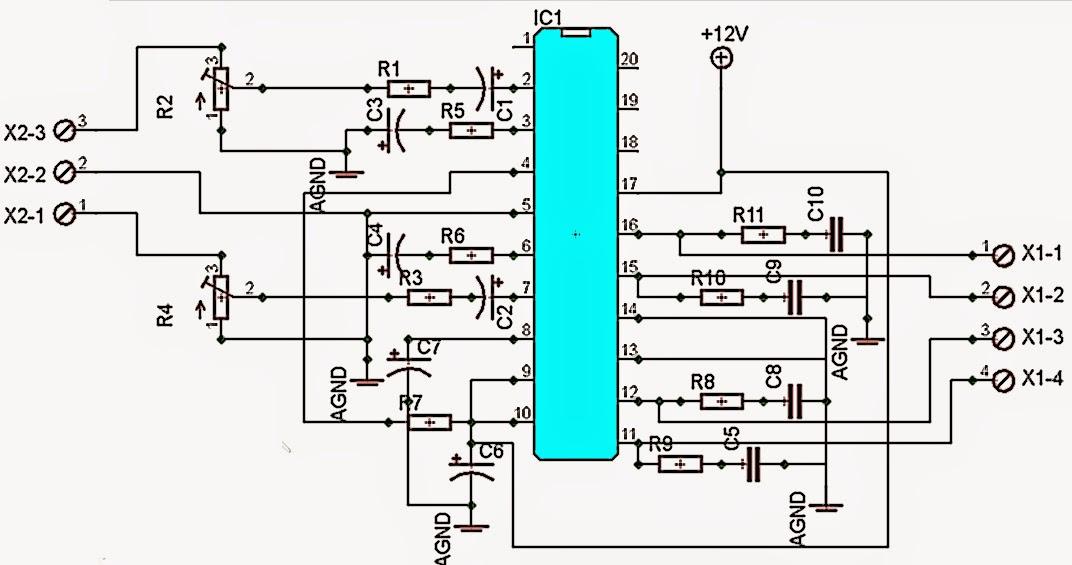 AmplifierCircuitscom Subwoofer Diagram