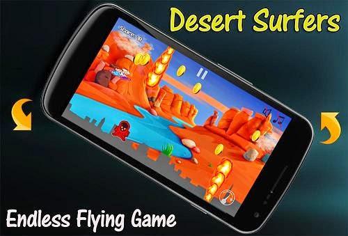تحميل لعبة ديزرت سيرفر اندرويد - Desert Surfers Android
