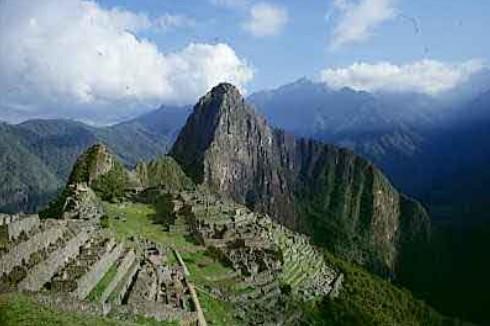 Kuil Machu Picchu di Peru
