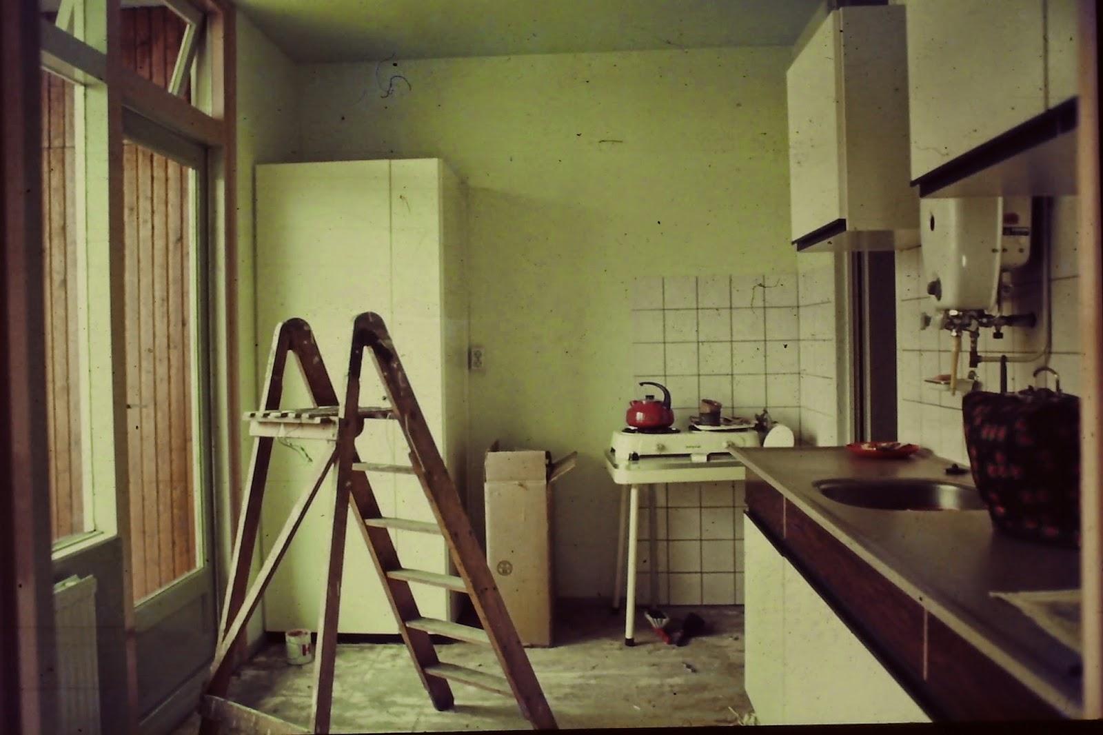 Olga\'s genealogie: Een interieur in de jaren 70