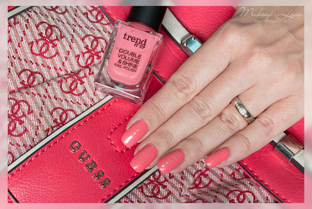 trend IT UP Double Volume & Shine Nail Polish 130 Tragebilder Review Trend 2015
