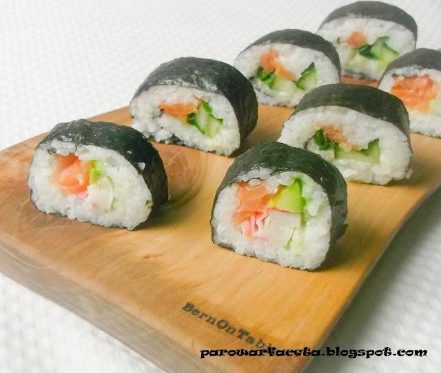 jak zrobić sushi krok po kroku