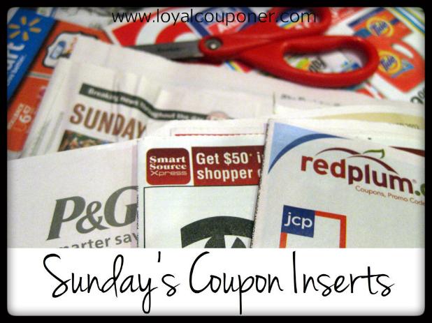 Loyal Couponer: Sunday, 5/12/13 coupon inserts
