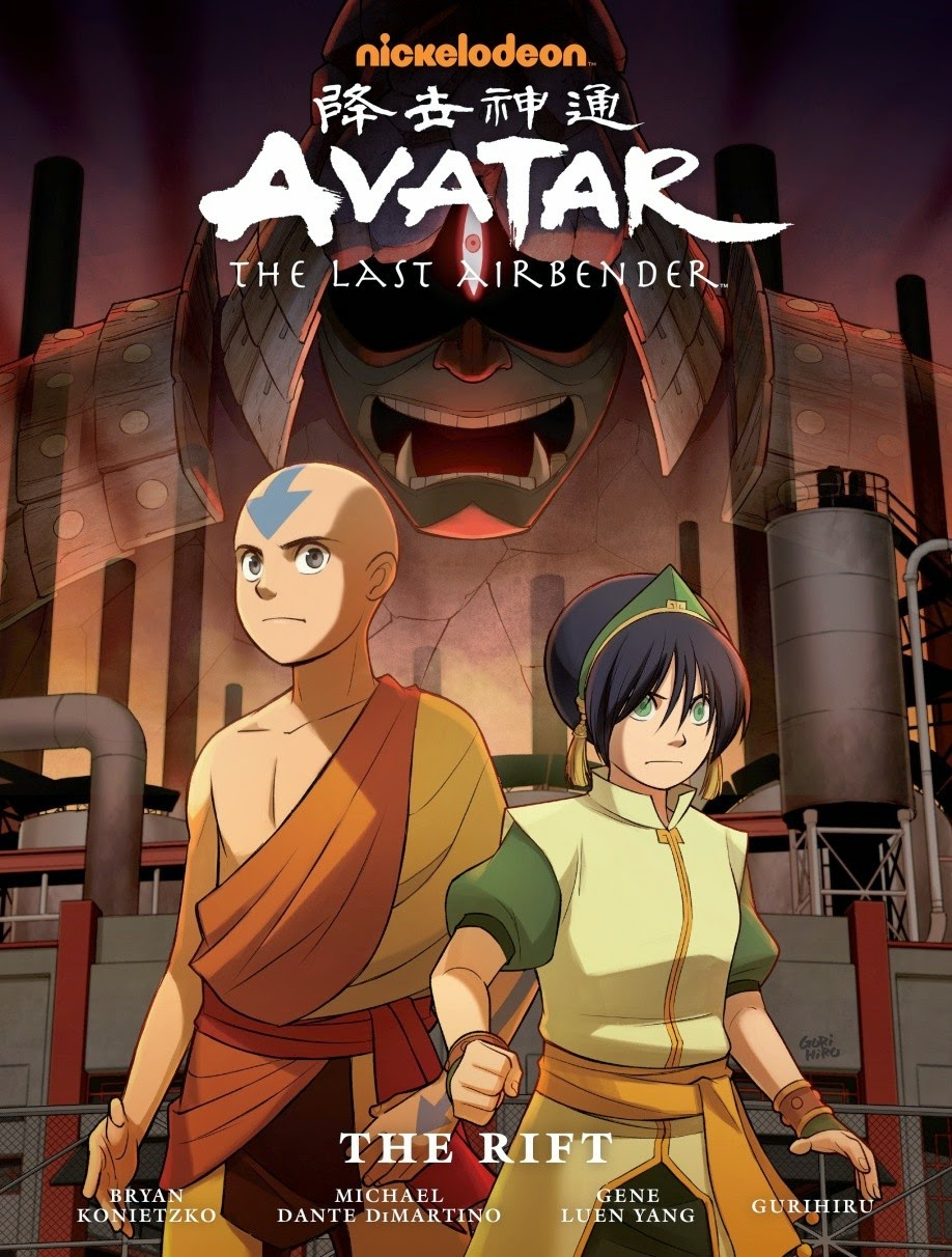 Avatar - The Rift Library Edition Cover
