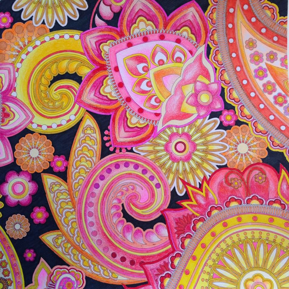 coloriage anti stress inspiration bollywood