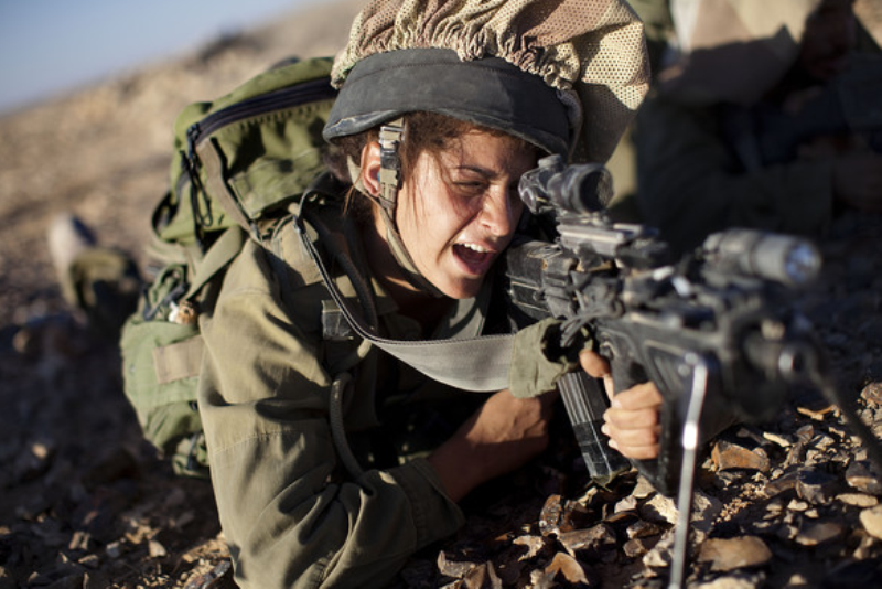 warhistory: Female Soldiers of Israel Defense Forces's
