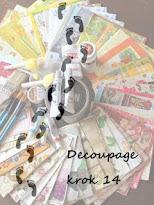 Decoupage krok 14