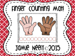 https://www.teacherspayteachers.com/Product/Finger-Counting-Mat-1962289
