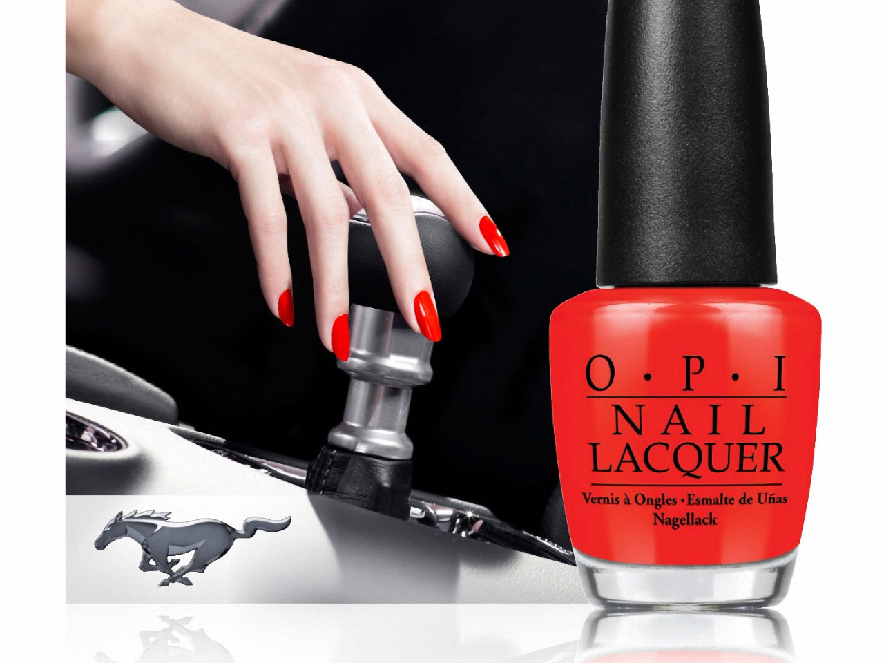 Iconic Pony Car Inspires Limited Edition OPI Nail Polish Line