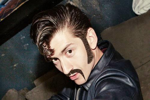 English singer Alex Turner Funny Images