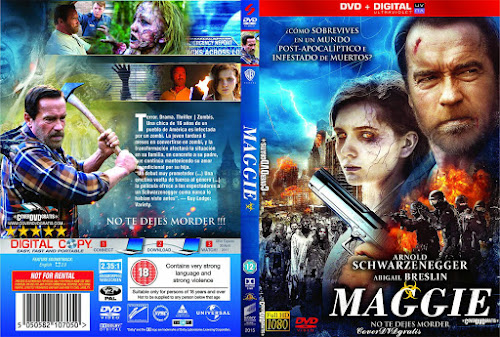 Maggie dvd cover (2015) Custom GERMAN