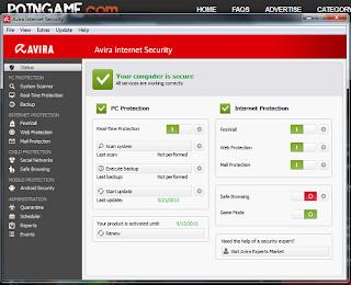 Avira Internet Security 13 Full License Key Until 2015