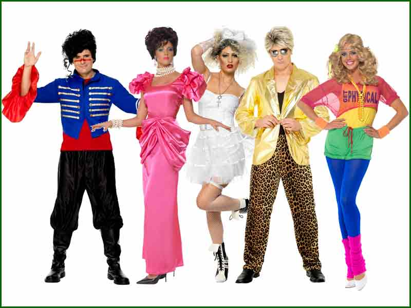Adshires Fancy Dress Group Fancy Dress Exciting Ideas  sc 1 st  Meningrey : 80s couples costumes ideas  - Germanpascual.Com