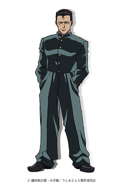 Ushio to Tora personajes
