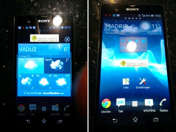 Sony Xperia Z (Sony C660X Yuga)