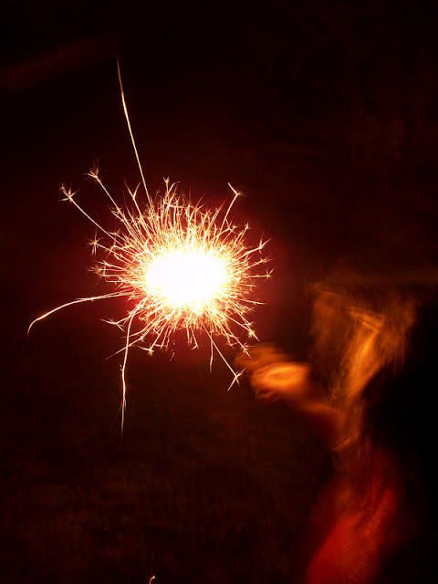 4th of July sparkler