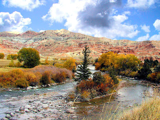 Amzing Wind River Wyomin,USA