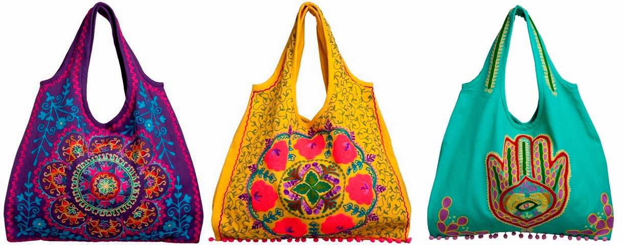 Bolsa De Tecido Hippie : Da andressa cunha na moda bolsa wayuu colombiana