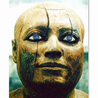 These Strange 5000 Year Old Artifacts Were Found Intentionally Buried in Iraq! Blue-eyed-egyptian8