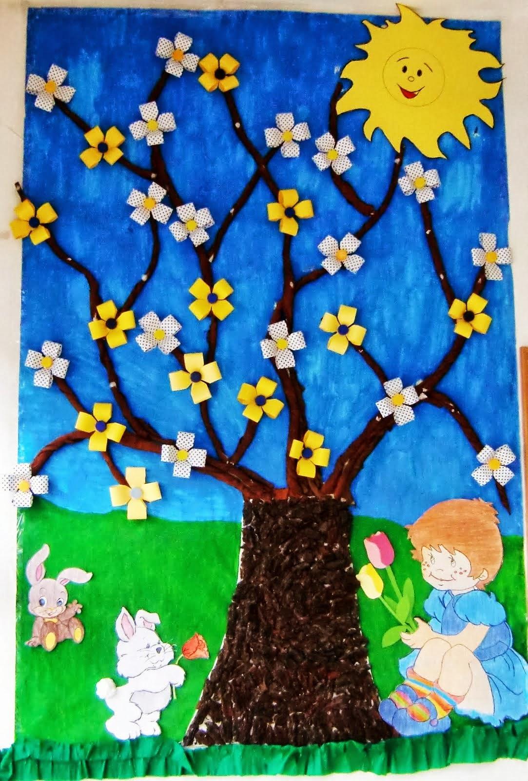 Decoraciones Para Aulas De Primavera