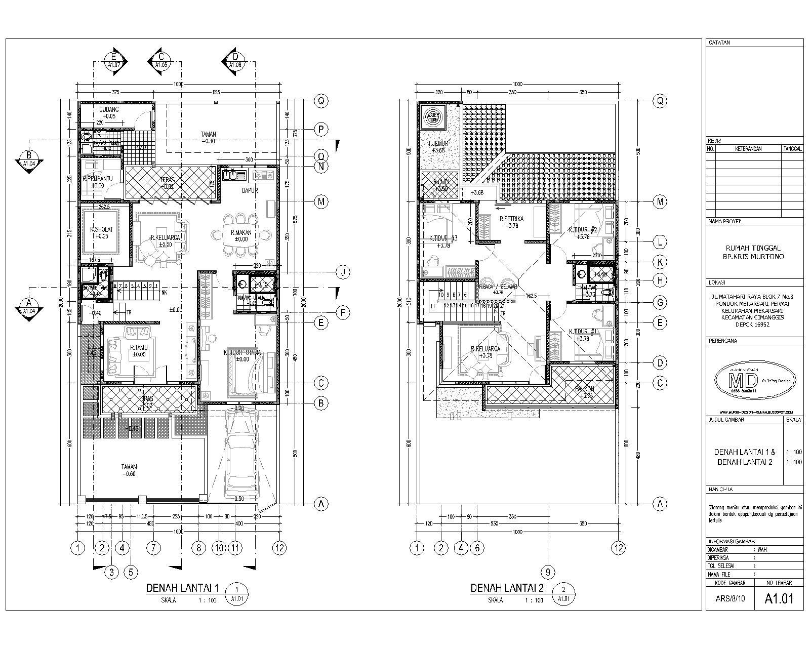 Foto desain Rumah Minimalis Moderen terbaru :