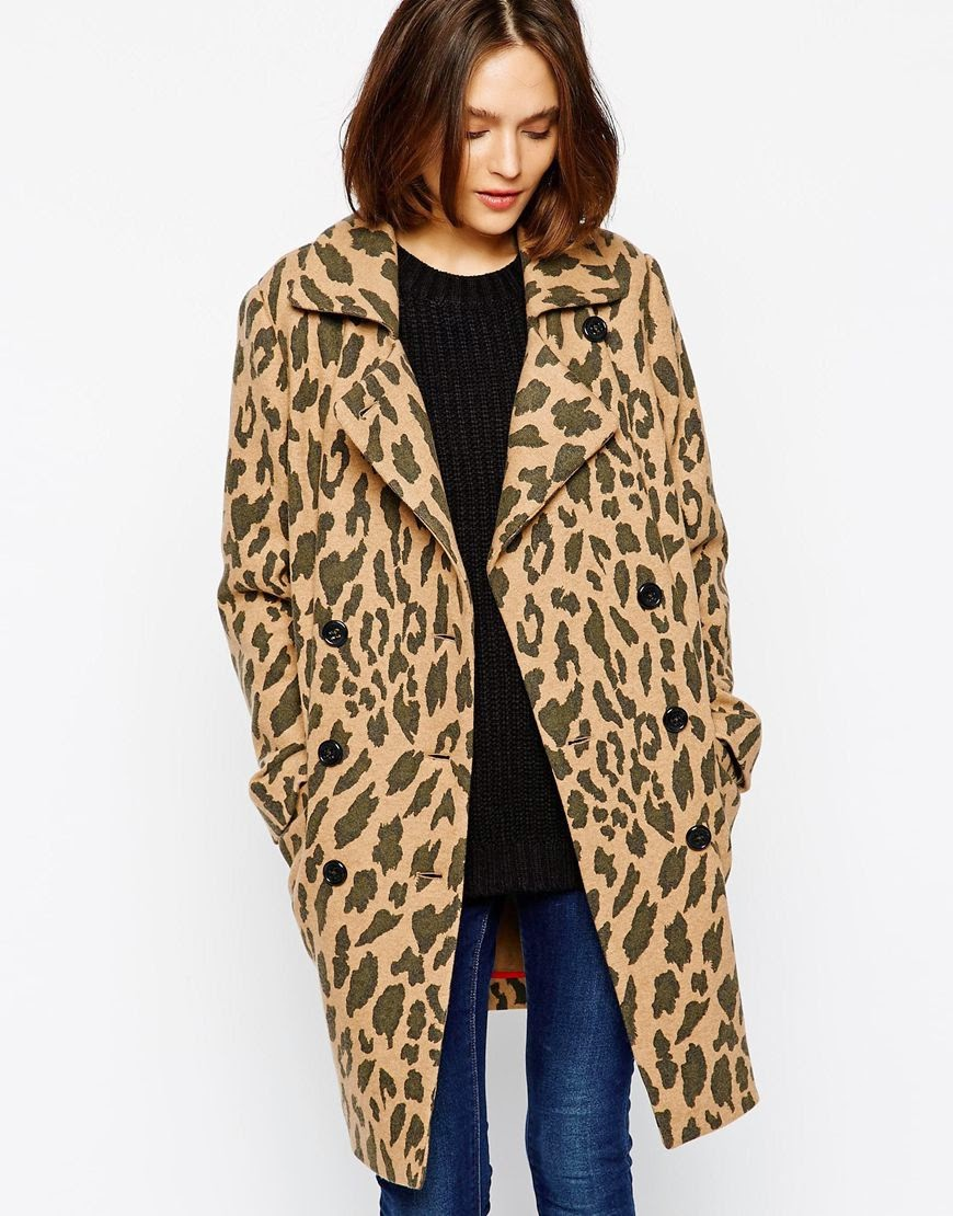 Boss Orange Leopard coat
