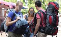 Turisti cu bagaje