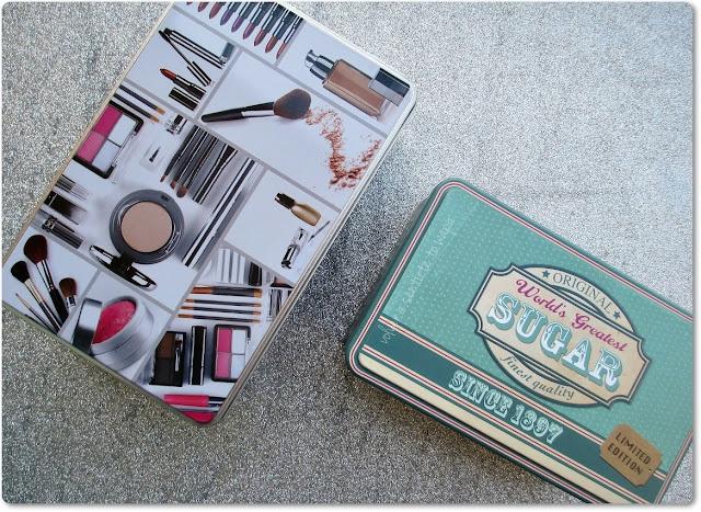 Cajas Metálicas de Maquillaje y Té