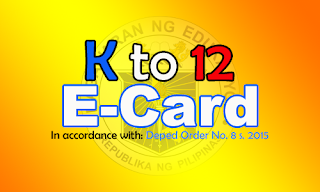 k to 12 sample report card