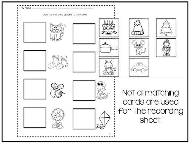 https://www.teacherspayteachers.com/Product/Winter-Rhyming-Picture-Match-192399