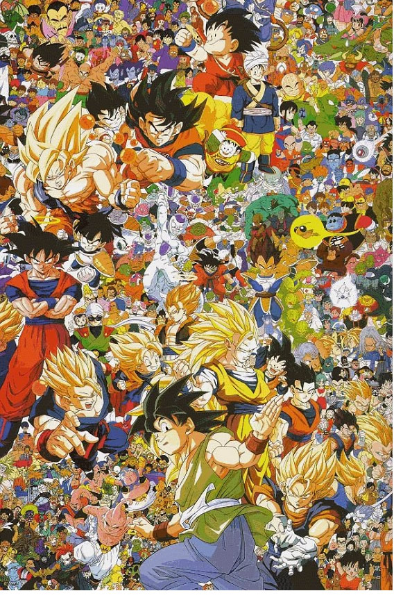 Los Villanos de Dragon Ball Parte 1 (DB/DB Z)