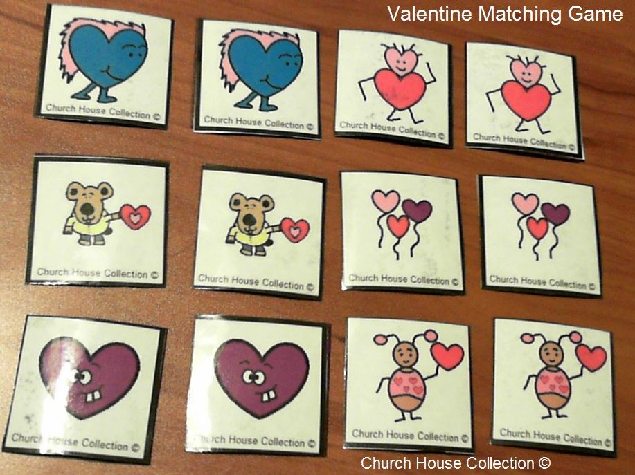 Matching cards game for adults