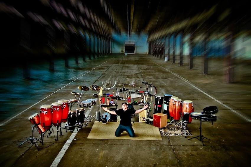 Set de Percussão - Cássio de Fernando