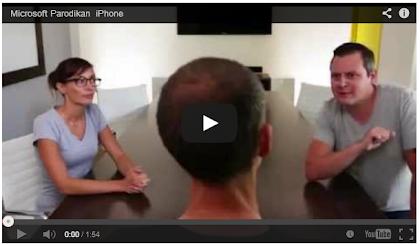 Iklan Microsoft Hina iPhone 5S dan 5C