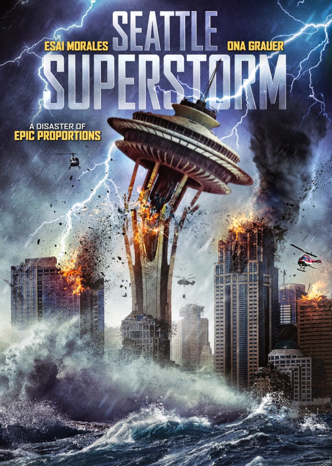 Cinematic Autopsy: Seattle Superstorm (2012/DVD/ Arc ...