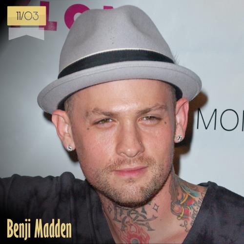 11 de marzo | Benji Madden - @benjaminmadden | Info + vídeos