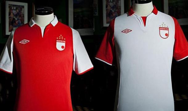 La nueva camiseta de Santa Fe para el 2013