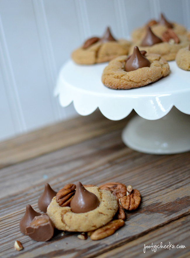 Peanut Butter Turtle Blossom Cookie Recipe