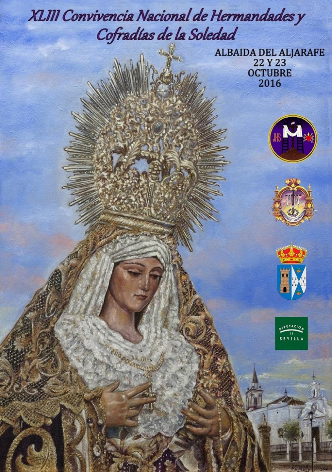 CARTEL XLIII CONVIVENCIA NACIONAL DE HERMANDADES Y COFRADÍAS DE LA SOLEDAD