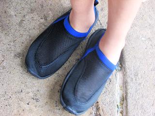 Zapatillas para la piscina
