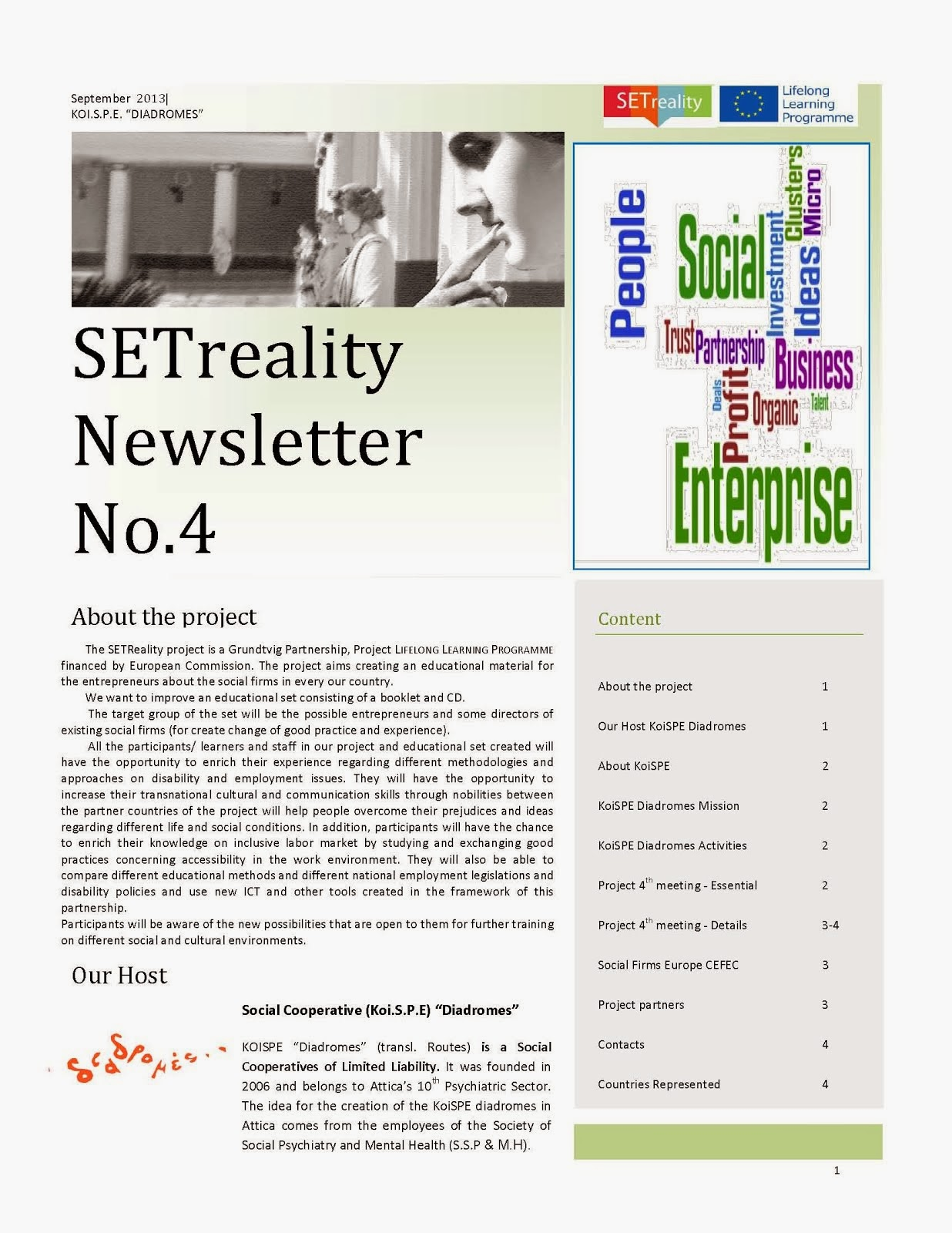 SETreality Newsletter 4