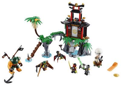 TOYS : JUGUETES - LEGO Ninjago 70604 Isla de la viuda tigre | Tiger Widow Island Producto Oficial 2016 | Piezas: 450 | Edad: 8-14 años Comprar en Amazon España & buy Amazon USA