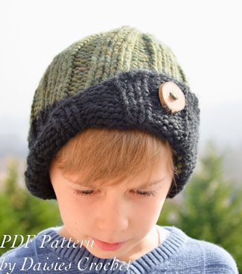 knitting boys beanie pattern